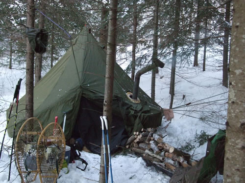 Trip Log 022 Pinetree Lake Winter Camping Smedleyco Com